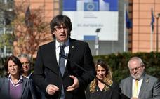 Puigdemont lamenta que las instituciones europeas den la espalda al 'procés'