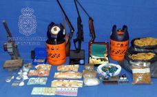 Cuatro detenidos por tráfico de drogas en Mérida