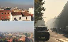 El Infoex desaconseja quemar rastrojos si el humo llega a zonas habitadas