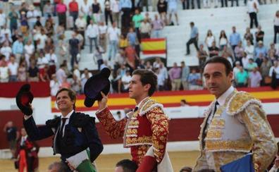 Ponce, el Juli y Ginés Marín se reparten siete orejas en Zafra