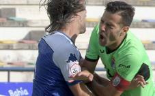 Un penalti dudoso derriba al Badajoz
