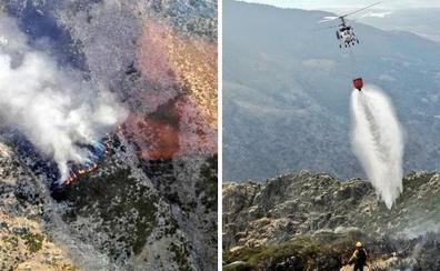 Controlado un incendio que se declaró anoche en la Sierra de Tormantos de Guijo de Santa Bárbara
