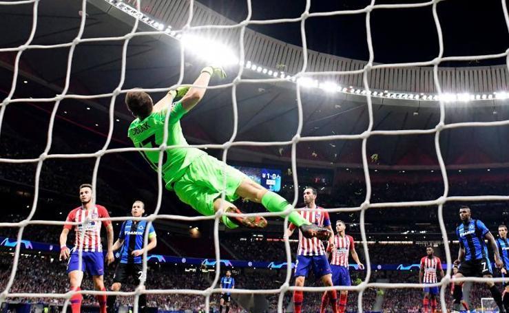 Las mejores imágenes del Atlético-Brujas