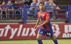 Íñigo López es seria duda para el partido ante el Numancia