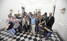 El Cáceres coge impulso institucional antes de poner rumbo a Barcelona