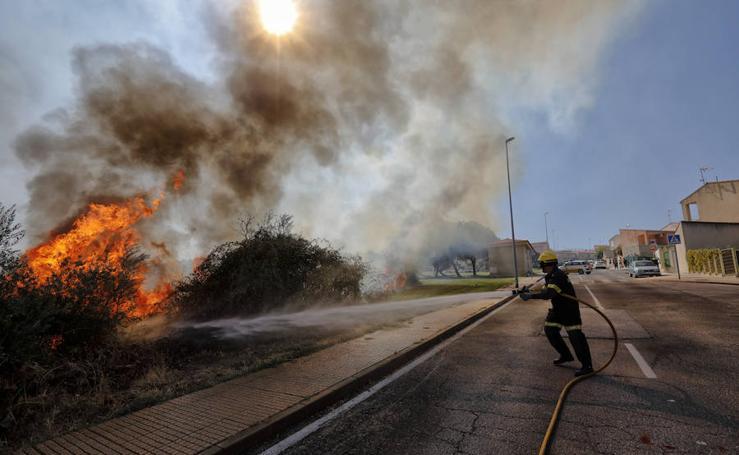 Tres incendios esta tarde en Cáceres