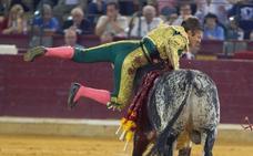 Grave cornada al novillero placentino Alejandro Mora