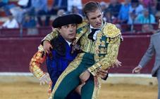 La grave cornada del novillero placentino Alejandro Mora tiene 5 trayectorias en un muslo