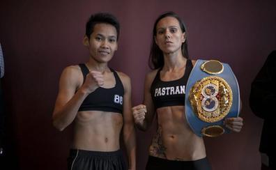 Joana Pastrana retiene el título del peso mínimo por KO ante la tailandesa Taweesuk