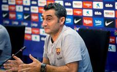 Valverde: «No sé si a Vidal le enfada el juego o un accidente doméstico»