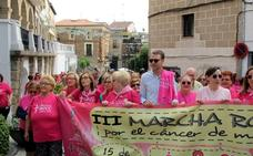 Hoy se celebra la IV Marcha Rosa contra el cáncer de mama en Jaraíz