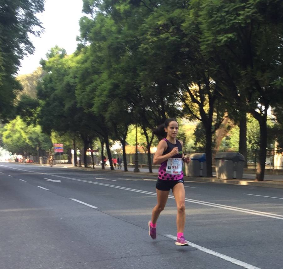 Mamen Ledesma, segunda en la Carrera de la Mujer de Sevilla