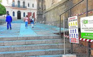 Comienzan las obras de mejora de la iluminación de las catedrales de Plasencia