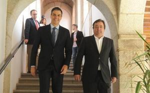 Vara pedirá a Pedro Sánchez un plan de empleo y otro de infraestructuras para la región