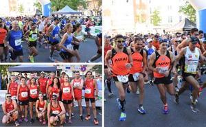 Medio millar de corredores participan en la carrera solidaria de la Guardia Civil