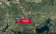 Dos heridos en una colisión en la A-5, cerca de Navalmoral