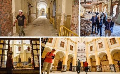 La Diputación de Badajoz quiere abrir el mercado gourmet en el Provincial a finales del próximo verano