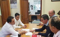 Ruta circular para llevar a enfermos y dependientes al centro de salud Montijo-Puebla