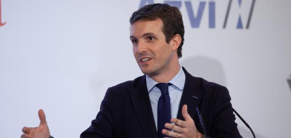 Casado reta a Ciudadanos a presentar una moción de censura en Cataluña