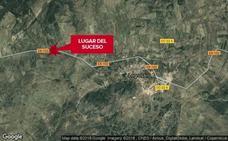 Cuatro heridos en un choque frontal entre una furgoneta y un turismo en Logrosán