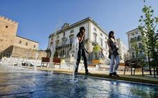El arquitecto de la Plaza Mayor de Cáceres achaca a la falta de mantenimiento su deterioro