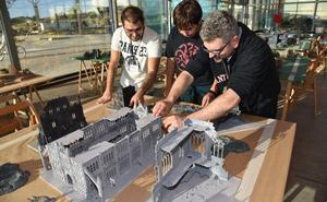 500 maquetas en el Palacio de Congresos de Plasencia por el certamen de modelismo