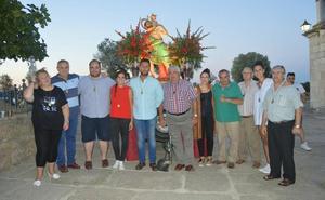 Encuentro anual de la hermandad de San Cristóbal de Arroyo de la Luz