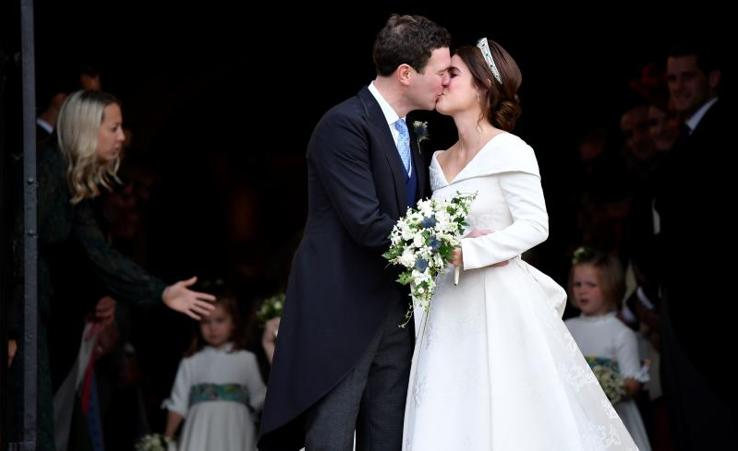 Así ha sido la boda de Eugenia de York y Jack Brooksbank