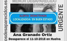 Encuentran en Mérida a una menor desaparecida en Huelva