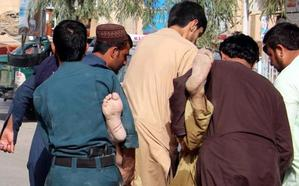 Al menos 22 muertos por una explosión durante un mitin en Afganistán