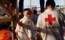 Dieciséis heridos al chocar una vaquilla contra una valla en Valdelacalzada