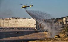 Los incendios en zonas periurbanas de Cáceres crecen un 35 por ciento