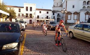 Medio centenar de participantes en el 'Día de la Bicicleta' de Llerena