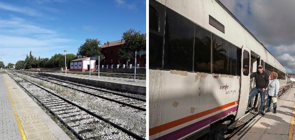 Los trenes extremeños registran cuatro incidencias en los tres días del Puente del Pilar