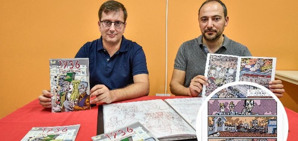 La toma de Badajoz durante la Guerra Civil llega al cómic