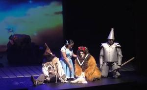 'El maravilloso Mago de Oz' se representa en el Gran Teatro