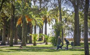 El Ayuntamiento y la Junta se comprometen a mejorar la accesibilidad en el parque de la Alcazaba de Badajoz