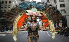 Desfile de la Hispanidad recorre Nueva York en el 150 aniversario de La Nacional