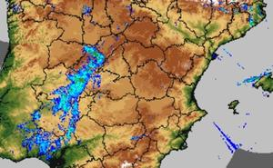 Garganta la Olla, la localidad más lluviosa de la región este lunes