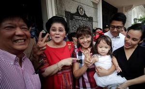 Imelda Marcos, candidata a gobernadora en Filipinas