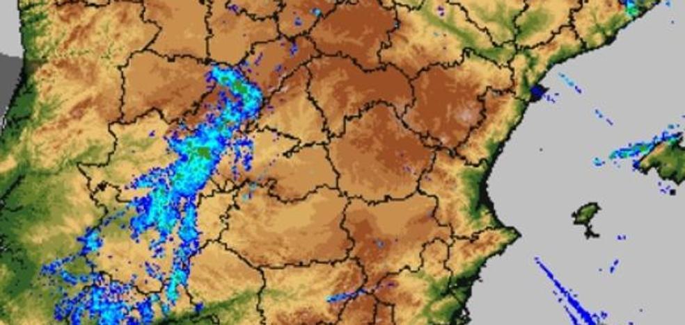 La borrasca Michael se va de Extremadura con lluvias generalizadas