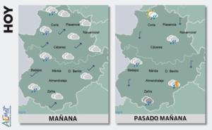 Miércoles con subida de temperaturas y posibles lluvias