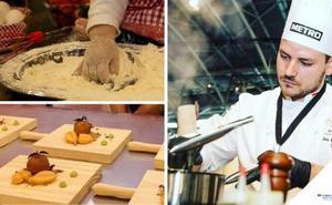 Reconocidos cocineros ponen en valor en Olivenza pequeñas elaboraciones gastronómicas