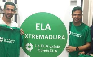 El Badajoz se tiñe de verde, sensibilizado con la ELA