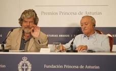 Messner y Wielicki, Premios Princesa de Asturias 2018 de los Deportes: «El alpinismo es el arte de sufrir, no turismo de sendero»