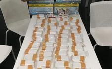 Operación conjunta de la Policía Nacional y Local en Badajoz contra la venta de tabaco de contrabando