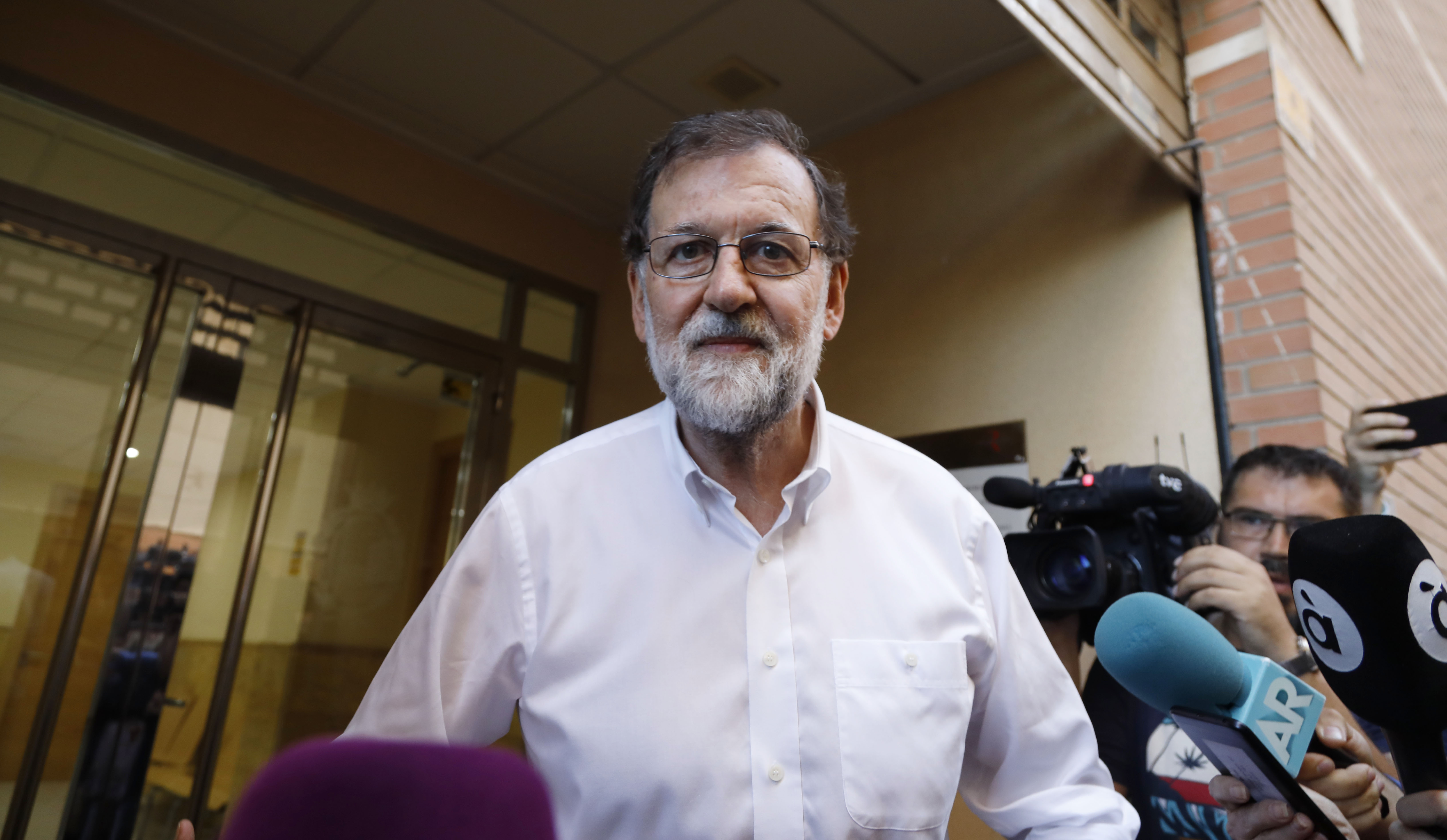 Rajoy se despide de Santa Pola con una comida