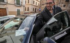 Comienza la renovación de permisos para circular por el casco histórico de Cáceres