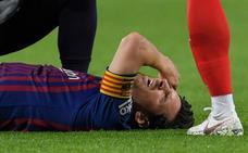 Con Messi, 16 minutos basta