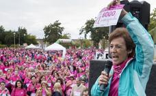La solidaridad placentina se vuelve a vestir de rosa
